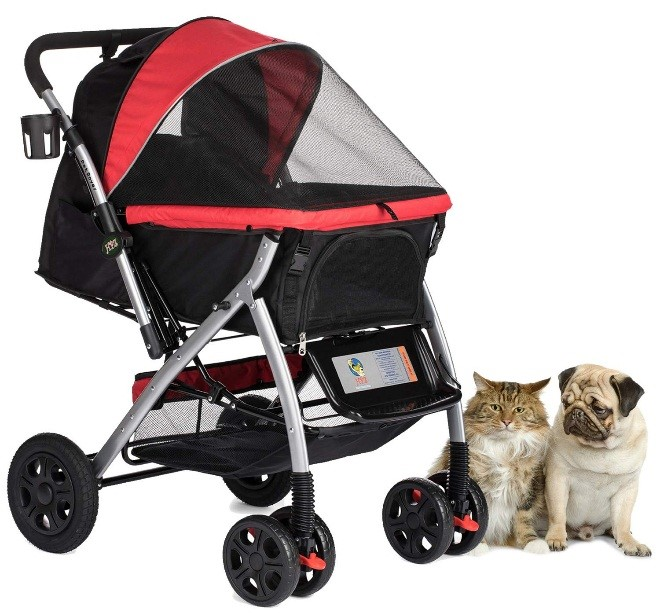 What are dog strollers for?