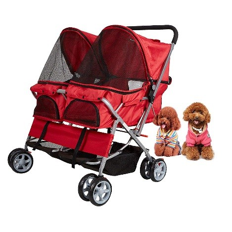 best double dog strollers