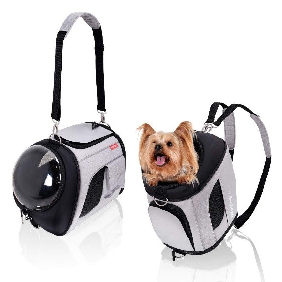 privacy dog carrier