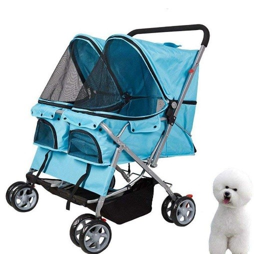 double dog stroller for small dog