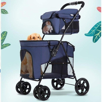 dog and cat stroller