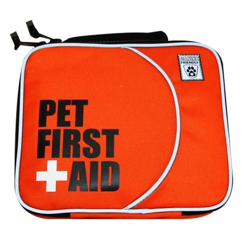 dog first aid kit - driving cross country dog