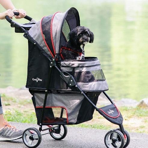 lightweight pet stroller
