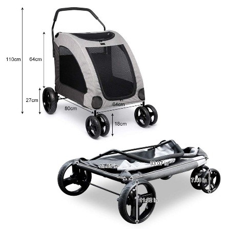 reviews bet pet strollers