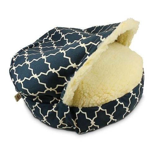 luxury round dog beds