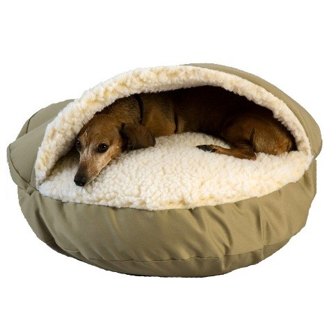 dog cave bed reviews