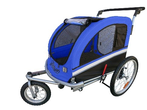extra large dog trailer for bike