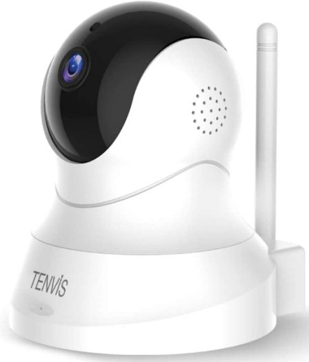 Dog Camera TENVIS 1080P Pet Camera with Phone App Speaker Wireless Monitor Camera with Motion Detection 2 Way Audio Night Vision Security Camera with Android iOS APP