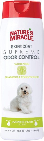 Natures Miracle Supreme Whitening Odor Control Shampoo